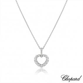 Chopard White Gold L'heure Du Diamant Pendant 799417-1001